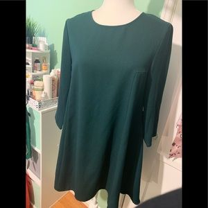 Forever 21 Emerald tunic dress
